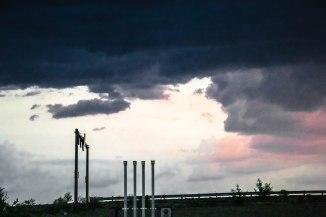 darkest clouds